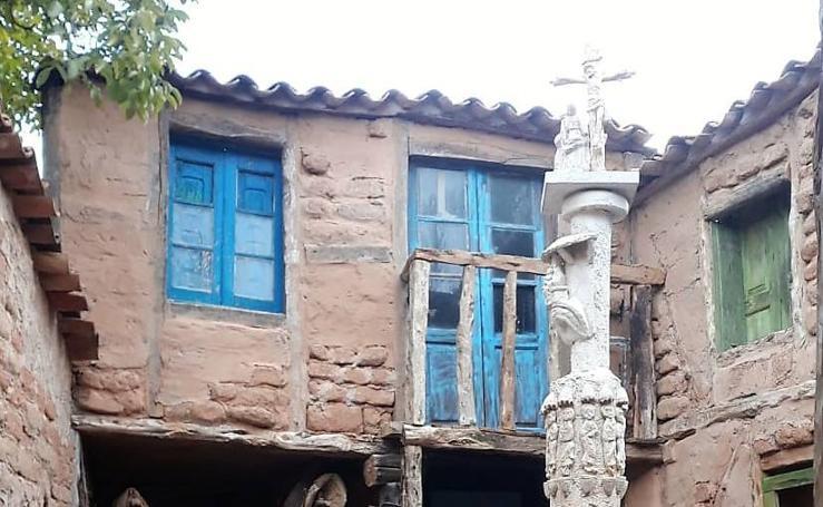 La escultura Territorio Artlanza sigue creciendo