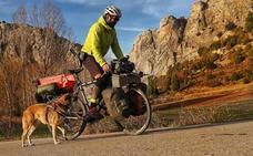 El Camino del Cid a golpe de pedal y con perro