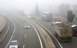 La Aemet activa el aviso de nieblas en la provincia de Burgos