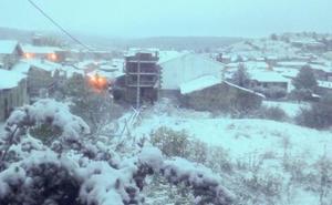 Palacios de la Sierra registra esta noche una de las temperaturas más bajas con -2,6 grados