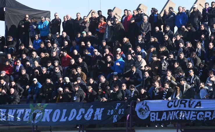 El Real Valladolid B - Burgos CF, en imágenes