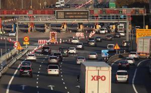 La Jefatura Provincial de Tráfico considera «positiva» la respuesta de la antigua AP-1 en este puente