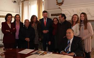 La familia de Miguel Pérez Pascual aporta numerosos documentos al Archivo Municipal