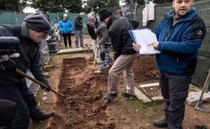 Concluye sin resultados la búsqueda de fosa «de los Ilustres» en Soria
