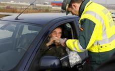 Tráfico realizará esta semana más de 2.500 pruebas diarias de alcohol y drogas en Castilla y León