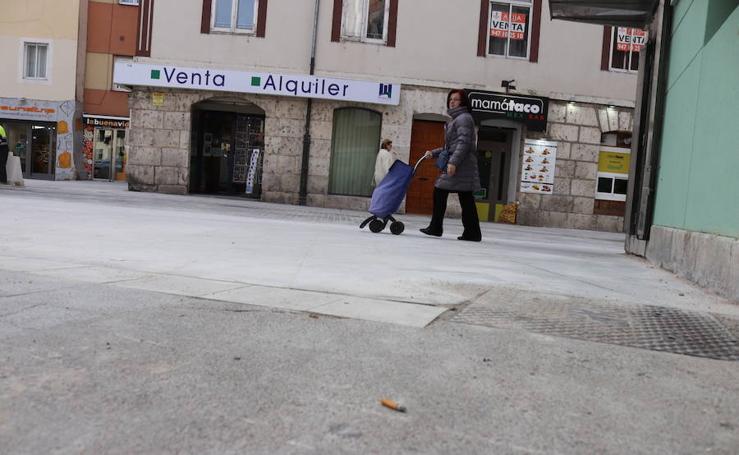 Concluyen las obras de la primera fase de la plaza Hortelanos