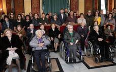 Burgos homenajea a sus centenarios