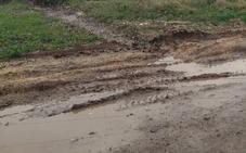 Siete pueblos del Alfoz elaboran un informe con los daños que las obras del AVE han causado en sus municipios
