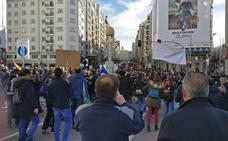 Los funcionarios de prisiones de Burgos marchan en Madrid para que la sociedad conozca sus problemas «endémicos»