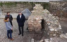 La segunda fase de excavación del Solar del Cid deja al descubierto una construcción defensiva