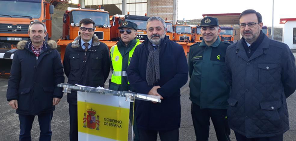 El subdelegado del Gobierno coordina el dispositivo para afrontar con garantías la vialidad invernal