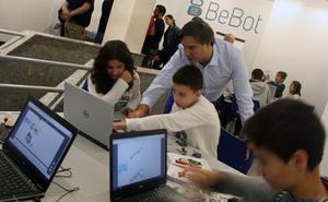 El programa Bebot organiza tres talleres navideños de robótica en Miranda de Ebro