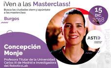 Concepción Monje, experta internacional en robótica, imparte la segunda masterclass del proyecto STEM Talent Girl