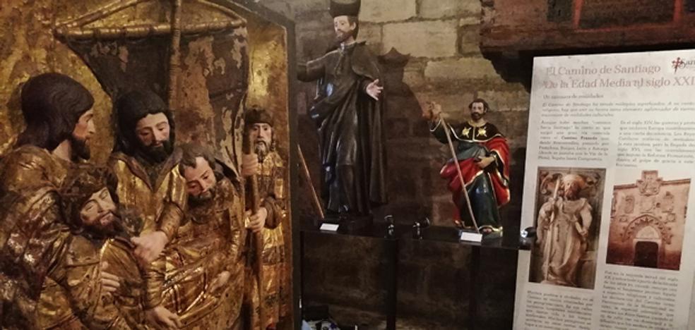 La exposición 'Santiago, el peregrino de Burgos' supera los 2.000 visitantes en la Real y Antigua de Gamonal