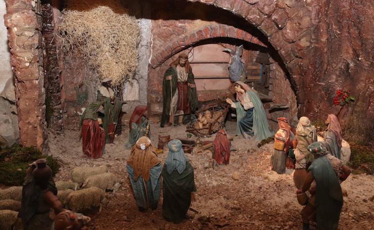 Inauguración del belén de la Catedral