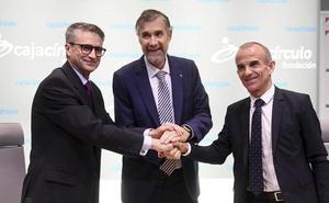 UBU y las fundaciones Cajacírculo e Ibercaja firman un acuerdo marco que comienza con el apoyo a cuatro proyectos con 13.000 euros