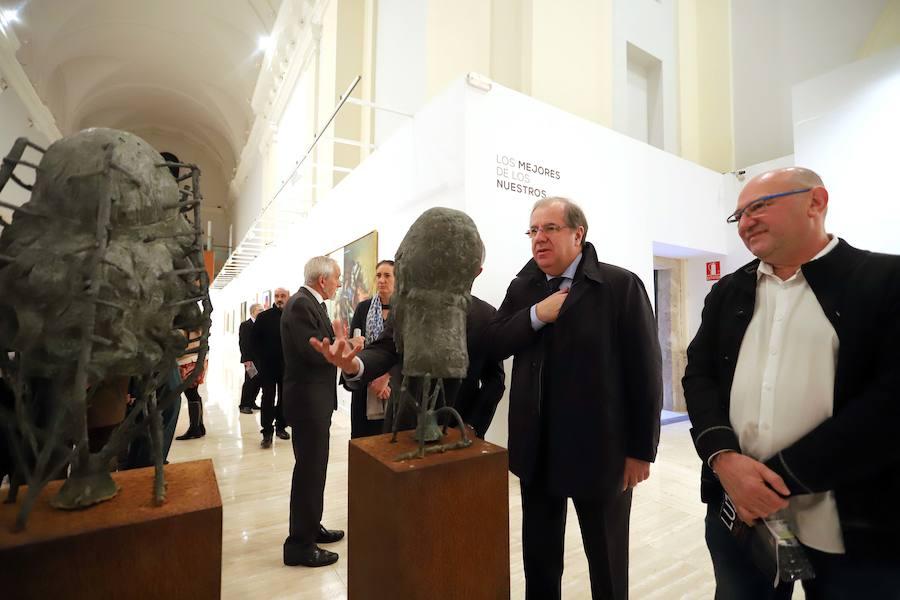 Una muestra homenajea a los artistas Premio Castilla y León de las Artes