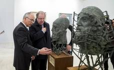 Juan Vicente Herrera inaugura la exposición 'Los Mejores de los Nuestros. Luz y Paciencia en los Premios Castilla y León de las Artes'