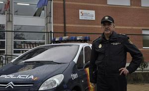 Braulio González, inspector de la comisaría de Burgos, premiado por la Secretaría de Estado de seguridad