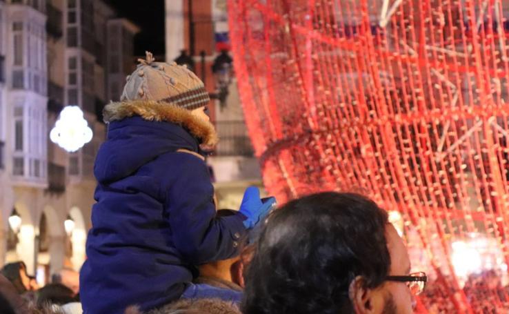 Las Luciérmagas alumbran la Navidad burgalesa