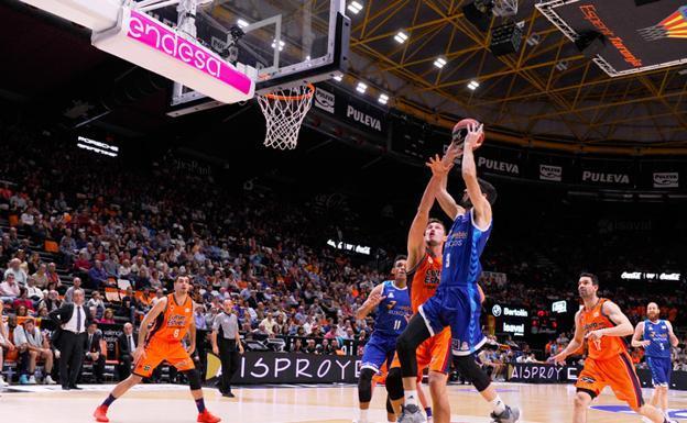 Sigue el San Pablo-Valencia Basket en directo