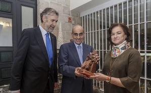 Luis Abril, socio de honor 2018 de AlumniUBU