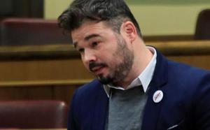 Rufián ve una provocación el Consejo de Ministros del próximo viernes en Barcelona
