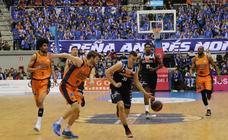Las mejores imágenes del partido entre San Pablo Burgos y Valencia Basket