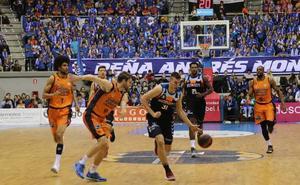 Un desconcentrado San Pablo Burgos acaba cayendo ante el Valencia Basket
