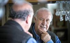 Vicente del Bosque: «Me da no sé qué decirlo, pero, sinceramente, yo creo en los políticos»