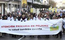 Cerca de 3.000 personas se manifiestan en Burgos en defensa de la Atención Primaria