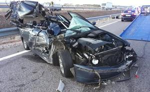 Dos de los diez puntos con más accidentes de España están en Castilla y León