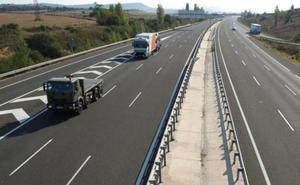 Burgos tiene el tramo de carretera con más accidentes de vehículos pesados de España