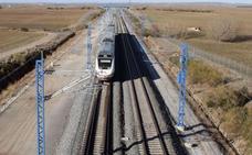 Lacalle exige a Fomento un «calendario cierto» de la llegada del AVE a Burgos