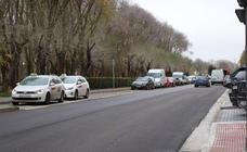 Se renueva la urbanización del Paseo de Fuentecillas frente al Parque de la Isla