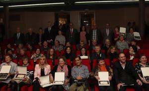 El delegado territorial entrega las distinciones a empleados públicos de la Junta en Burgos