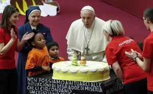El papa Francisco cumple hoy 82 años