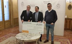 Sodebur entrega 29.255 euros a las familias de la provincia con necesidades en materia de energía
