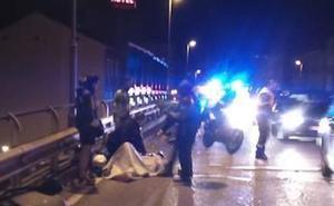 Un conductor arrolla a un ciclista en el Arco de Ladrillo de Valladolid y se da a la fuga