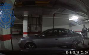 Detenidos dos jóvenes como autores del robo de piezas de vehículos de alta gama en garajes de Burgos