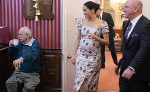 Meghan visita una residencia para actores