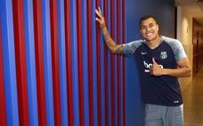 Murillo, de no jugar en el Valencia a solución para el Barça