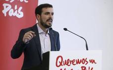 Garzón exige a Llamazares que pida perdón a IU y se marche