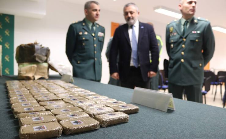 La Guardia CIvil incauta 90 kilos de hachís