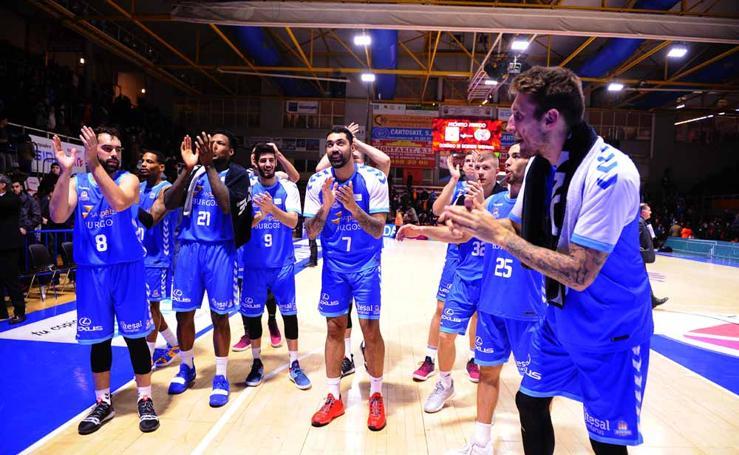 El San Pablo Burgos consigue su primera victoria a domicilio