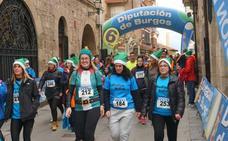 Jorge Alonso y Asun García ganan la carrera navideña de Medina de Pomar
