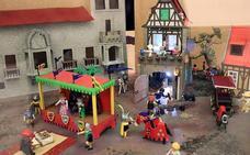 Una exposición del MEH recrea el descubrimiento de América con figuras de Playmobil
