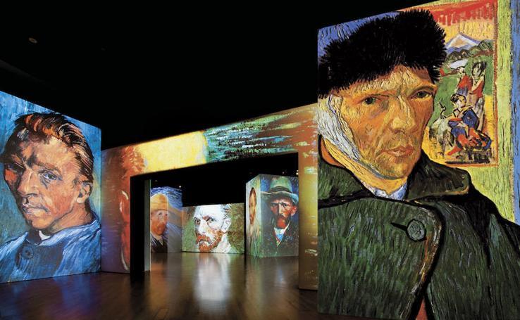 'Van Gogh Alive': imágenes de la exposición multimedia más visitada del mundo