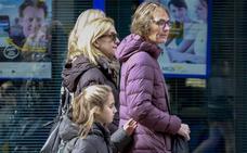 La infanta Cristina visita en Vitoria a su familia política