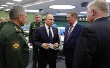 Putin prueba el nuevo misil nuclear Avangard, que recorre toda Siberia